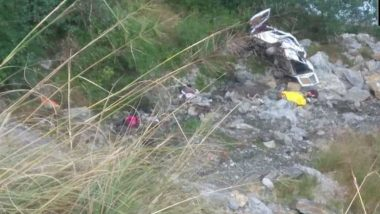 Uttarakhand: Eight Dead, Five Injured After Mini-Bus Rolls Down a Deep Gorge in Uttarkashi's Sonagarh