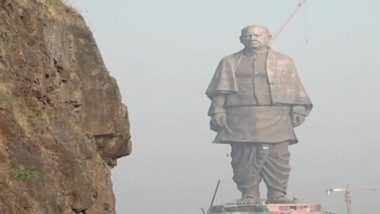 Sardar Patel 'Statue of Unity' To Be Inaugurated On October 31 By PM Narendra Modi; Work Underway To Meet Deadline