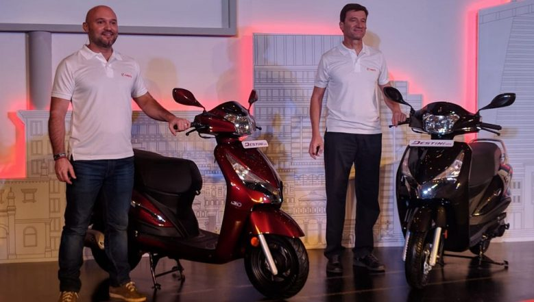 Hero Destini 125 Scooter Launched in India; Prices Start From Rs 54,650