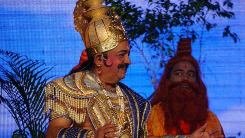 Dr Harsh Vardhan Plays Role of Raja Janak in Luv Kush Ram Leela in Delhi, Check Out Pictures & Video