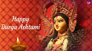 Durga Ashtami 2018 Wishes and Subho Ashtami HD Images: Best WhatsApp Messages & Status, SMS, GIFs and Facebook Cover Photos to Wish Happy Maha Ashtami!