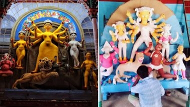 Durga Puja 2018: Idols of Goddess Durga for Navaratri Are Made With Soil From Sonagachi Brothels, Here's Why!