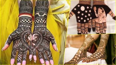 Easy Karwa Chauth 2018 Mehndi Design Ideas: Simple and Latest Mehandi Patterns With Photos and Videos to Learn and Apply This Karva Chauth Festival