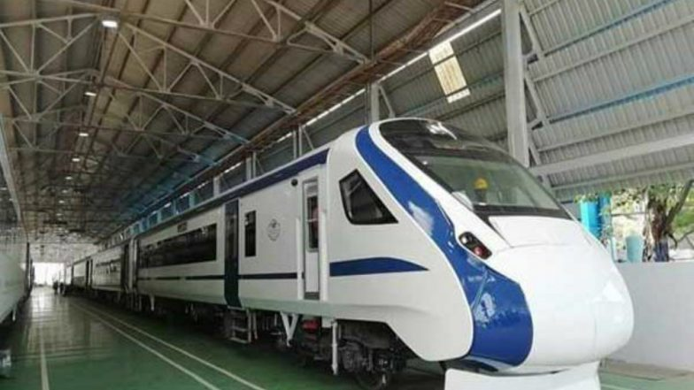 'Train 18', India's 1st Engine-Less Train, Likely to Be Launched on Atal Bihari Vajpayee's Birth Anniversary With Increased Fare Between New Delhi-Varanasi