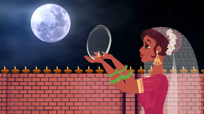 Karwa Chauth 2018 Moonrise Timings in Mumbai Today: Know When Karwa Chauth Chand Will Appear in the Cities of Maharashtra