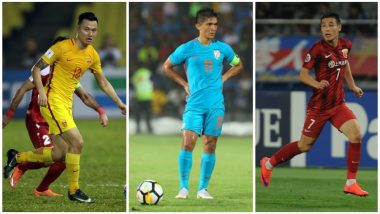 India vs China International Friendly 2018: Sunil Chhetri, Sandesh Jhingan Among Other Key Players to Watch Out for in This Historic Football Fixture!
