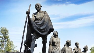 Mahatma Gandhi Statue at 'Gyarah Murti' in Chanakyapuri is Without it's Iconic Round Spectacles Since 18 Years! Here is Why?