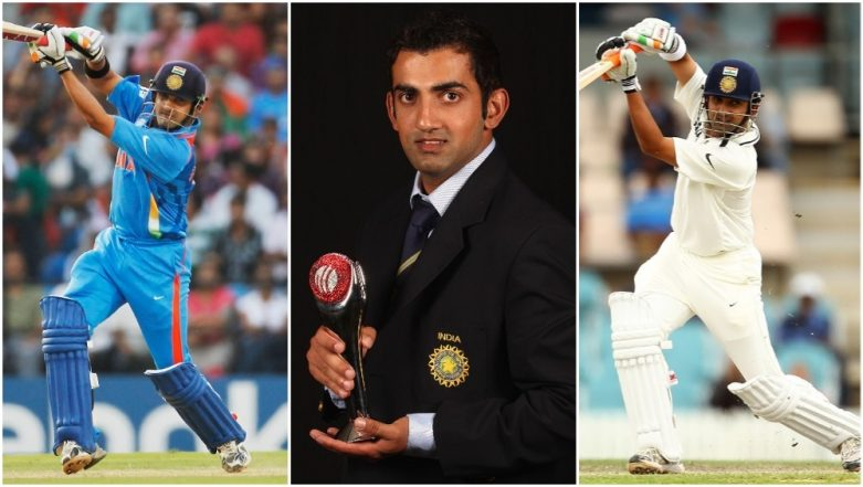 Gautam Gambhir 37th Birthday Special: Look Back At ICC T20 World Cup 2007, World Cup 2011 and Other Occasions Where Delhi Southpaw Helped India Script History!