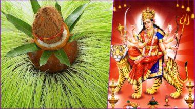 Navratri 2020 Ghatasthapana Timing & Puja Samagri: Why Is Kalash Sthapana Important During Sharad Navaratri? Essential Ingredients You Will Need to Offer Prayers to Maa Durga