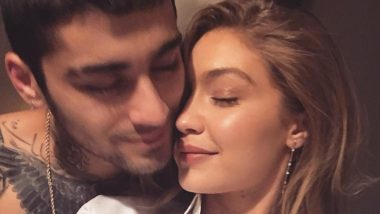 Zayn Malik's Bare Arms Are Gigi Hadid's 'Happy Place' - View Instagram Post