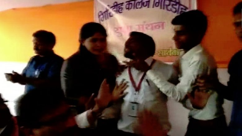 Jharkhand: Student 'Slapped' by ABVP Workers For Questioning Narendra Modi Govt, BJP MP Ravindra Ray Justifies Assault
