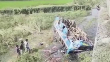 West Bengal: 5 Dead, 20 Injured as Bus Falls Into Canal In Hooghly