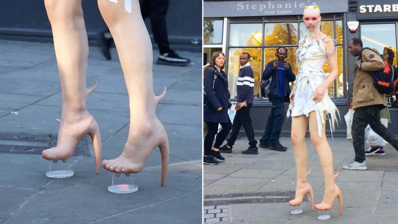 Halloween 2018 Fashion Ideas: These Human Skin Alien-Like Boots Are Creepy or Fashionable? View Pics!