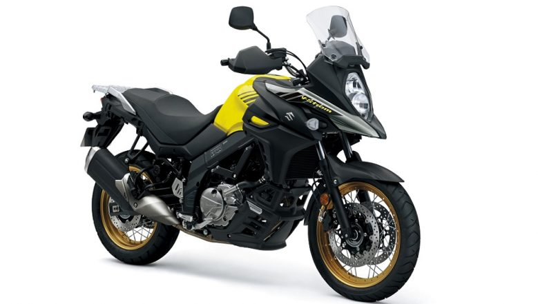 2018 Suzuki V-Strom 650 XT ABS Motorcycle Launched; Priced in India at Rs 7.46 Lakh