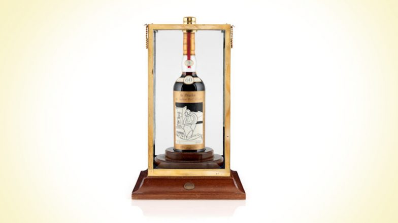 World's Most Expensive Whiskey: 60-Year-Old Macallan Valerio Adami 1926 Sold for Rs. 8 Crore