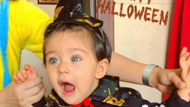 Soha Ali Khan's Daughter Inaaya's Halloween Look Will Scare Away Your Blues - See Pic