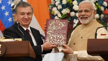 India, Uzbekistan Sign 17 Agreements to Boost Cooperation in Security, Tourism, Health Sectors