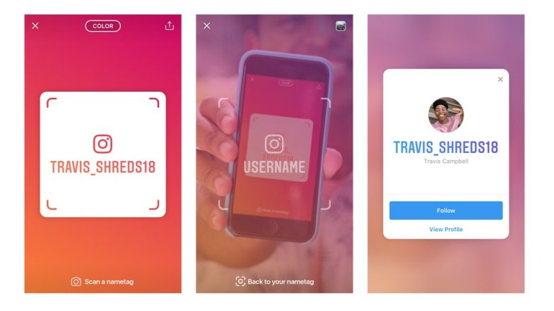 Instagram Introduces a New Nametag Feature; Allows Users to Customize Their Digital ID