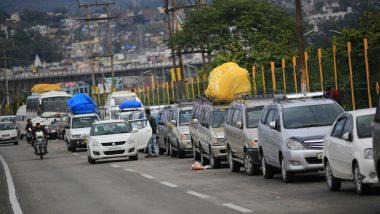 Jammu and Kashmir: Activists Protests Against Jammu-Srinagar Highway Ban