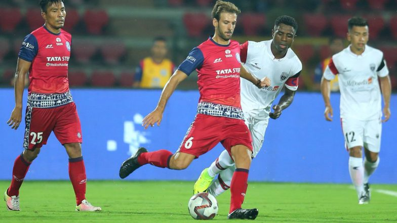 ISL 2018-19 Video Highlights: Jamshedpur FC Squander Chances Against 10-Man NorthEast United FC As Fixture Ends in 1-1 Draw!