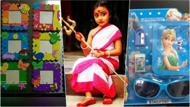 Kanya Pujan 2018 on Navratri Ashtami: Kanjak Gift Ideas to Purchase Online for Young Girls on Kumari Puja During Navaratri Festival