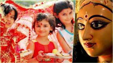 Kanya Pujan 2018 Dates During Navratri: Kanjak Puja Vidhi, Kumari Puja Significance Taking Place Durga Ashtami & Maha Navami