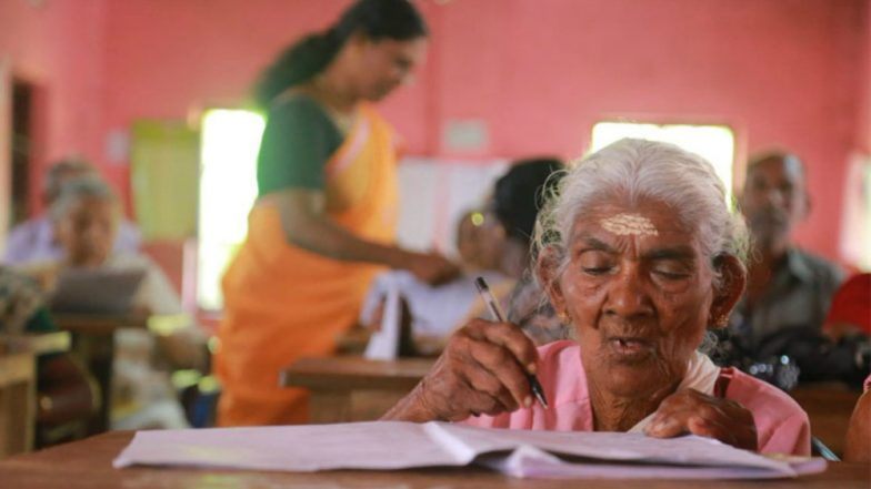 96-Year-Old Karthyayani Amma Tops Kerala's Literacy Exam! Sets Record With 98% Marks