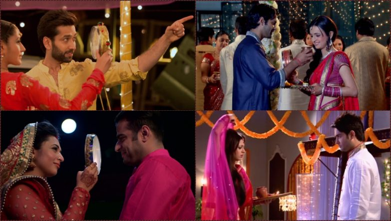 Karwa Chauth Celebrations in Ishqbaaz, Yeh Hai Mohabbatein, Kumkum Bhagya & Other Popular Indian TV Serials (See Pics and Videos)
