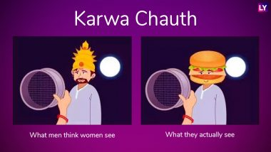 Karwa Chauth 2018 Funny Jokes and Memes: Share These Hilarious Karva Chauth Images and Messages With Your Married Friends