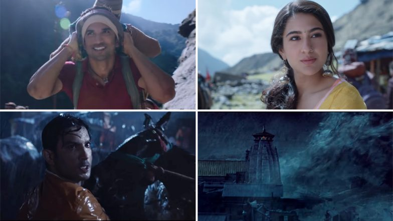 Sara Ali Khan Steals the Thunder From Sushant Singh Rajput in Kedarnath Teaser, Says Twitterati