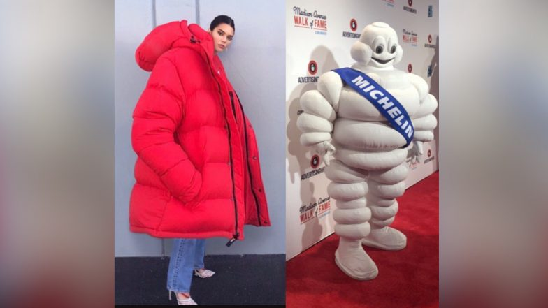 Kendall Jenner's Puffy Red Jacket Inspires Countless Jokes On Twitter That Compare Her To Michelin Man, Baymax and Even Kanye West
