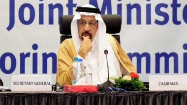 Saudi Oil Minister Khalid Al-Falih Stops By, India Expresses Concern Over Strait of Hormuz