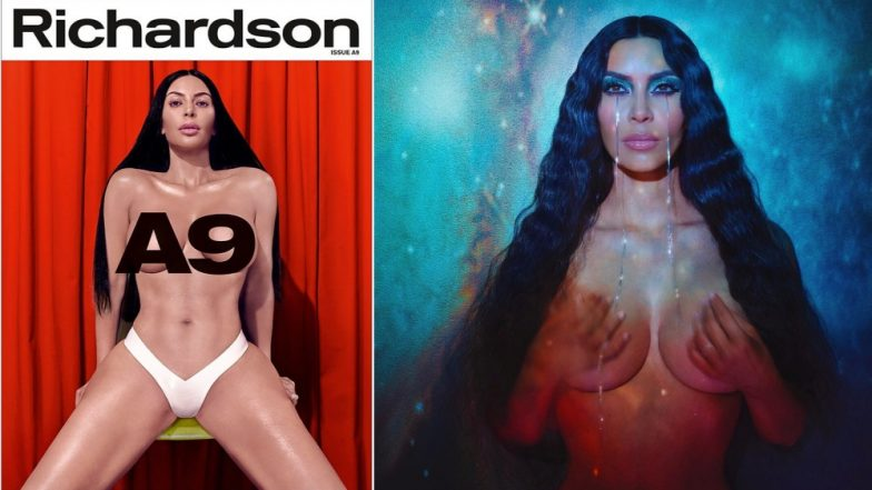 Kim Kardashian Strips Naked for Erotica Magazine: See Pics of the Sultry American Reality TV Star From Her Sexiest Photo Shoot Ever!
