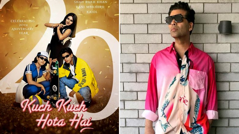 Karan Johar Celebrates 20 Years of the Classic Kuch Kuch Hota Hai With an Emotional Message for the Cast – See Pic