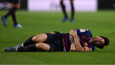 Lionel Messi Arm Injury: Here's the List of Injuries Barcelona Star Has Suffered Over the Years