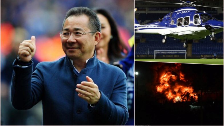 Leicester City Owner Vichai Srivaddhanaprabha Feared Dead as His Helicopter  Crashes Near Stadium After Premier League 3c4093dbb