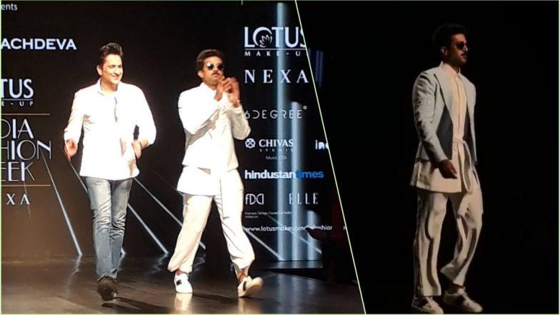 Lotus Make-Up India Fashion Week 2018: Saqib Saleem, Pawan Sachdeva's Showstopper Dances on 'Rock You' at Runway