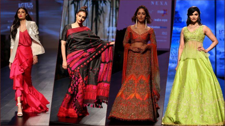 Lotus Make-up India Fashion Week 2018: Athiya Shetty, Tabu, Yami Gautam & Prachi Desai Celebrate 'Tribes of World' With Style