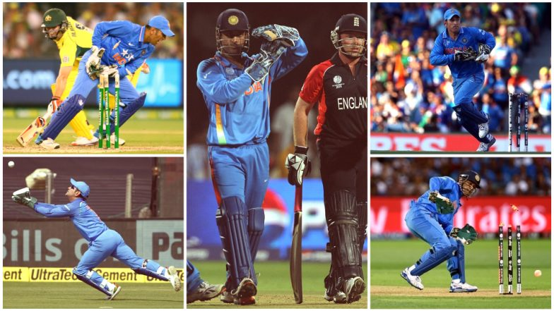 MS Dhoni's Lightning-Quick Stumping in 4th ODI Against Windies Video: A Look Back at Five Instances That Show Why MSD is One of The Greatest Wicket-Keepers of All Times!