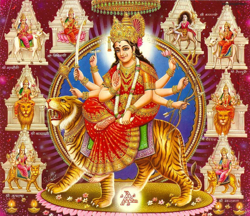 Durga mata ki photo download karna hai