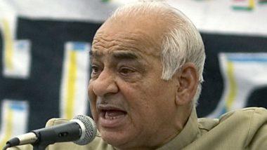 Madan Lal Khurana's Demise: PM Modi, Amit Shah and Other Political Leaders Condole Former Delhi CM's Death