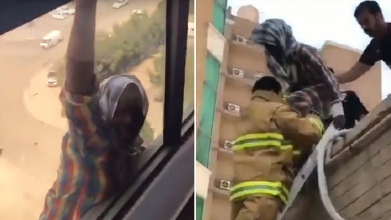 Woman in Kuwait Jailed For Filming Her Maid Jumping From Her Balcony and Not Offering to Help, Watch Video