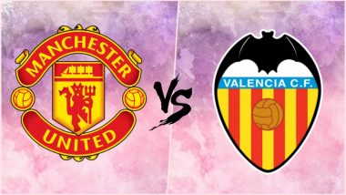 Manchester United vs Valencia, UEFA Champions League Live Streaming Online: How to Get CL 2018–19 Match Live Telecast on TV & Free Football Score Updates in Indian Time?