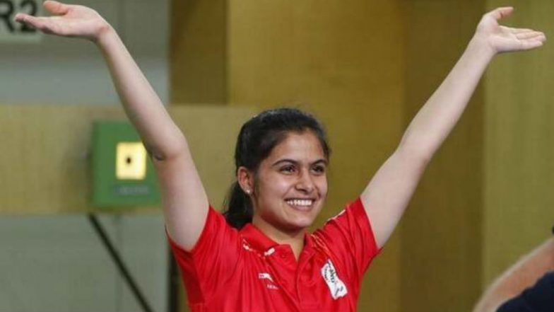 Manu Bhaker Wins Gold Medal in ISSF Shooting World Cup Final 2019, Breaks Junior World Record in 10m Air Pistol