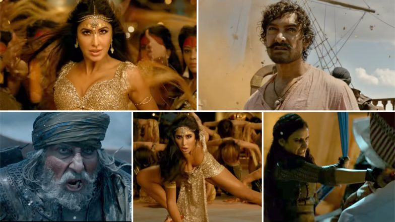 Thugs of Hindostan: Katrina Kaif Shares a Glimpse of What Went into The Making of Suraiyya and it is Tougher than It Looks!