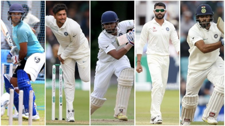 India vs West Indies Test Series 2018: Mayank Agarwal, Kuldeep Yadav, Prithvi Shaw Amongst Other Key Players for Indian Team!