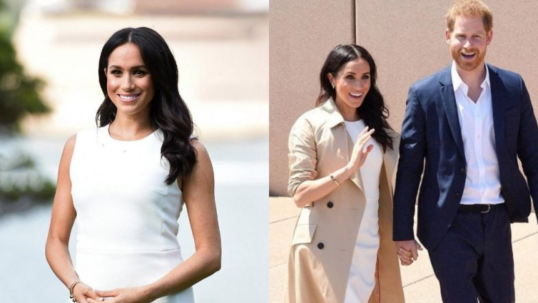 Pregnant Meghan Markle Dons Aussie Designer's White Ensemble And Literally Breaks The Internet - View Pics