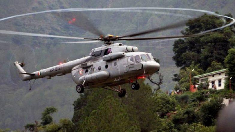 Mi-17 Chopper Makes Emergency Landing in Tuting, All 16 Passengers On Board Safe
