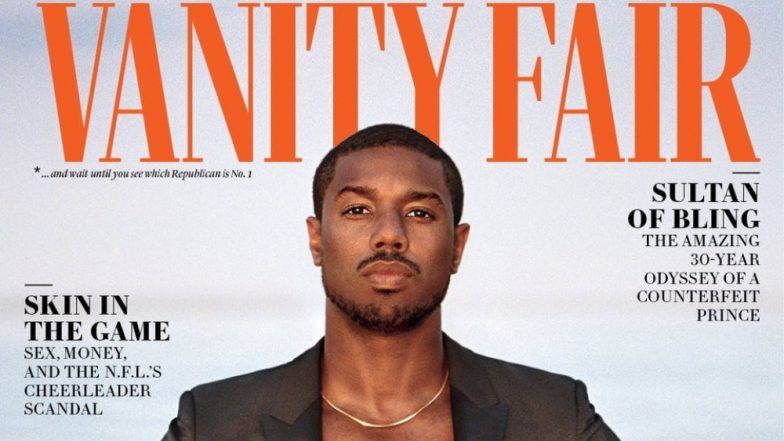 Michael B Jordan Is Immersed In The Pool Wearing A Waterproof Suit For A Magazine Cover And We're Losing Our Cool! View Pic