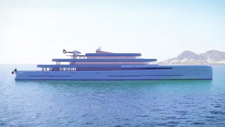 Superyatch Mirage Worth 200 Million Pounds Can Go Invisible in the Ocean, See Inside Pics and Video of The Luxurious Boat